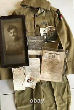 WW1 US Named and documented Uniform Grouping 61st Coastal Artillery