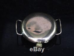 WW1 / WW2 Francois Borgel 9 Carat Gold Case Military Trench Watch
