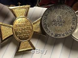 WW1 WW2 German Iron Cross 1936 Olympic Badge Medal Bar Hungary Army EK2 Police
