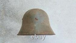 WW1 WWI German M16 Helmet No Damage Bell L64 Shell Only
