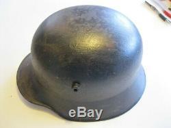 WW1 WWI German Steel Helmet M-1916 / 1917 Quist 66