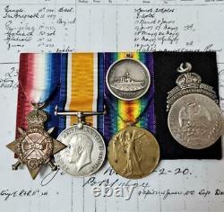 WW1 deserters British & Royal Australian Navy Sydney/Emden action medal group