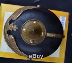 WW1 garde pickelhaube german prussian helmet m95 original antique relic helmet