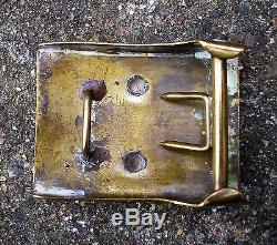 WW1 german Turkish Belt Buckle Original