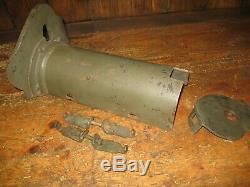 WW1 german mg 08 trench armour
