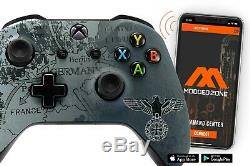 WW2 Eagle Xbox One S SMART Custom Rapid Fire Modded Controller. FPS mods COD
