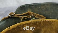 WW2 German Wehrmacht Heer steel combat helmet US officer WWI Air Corp Vet estate