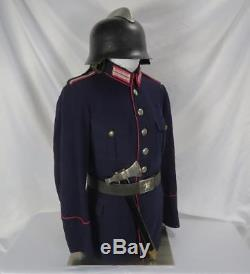 WWII German dress belt fire axe Officer uniform dagger tunic WW1 military estate