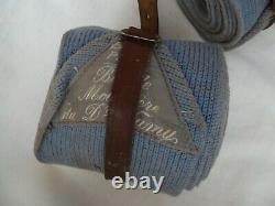 WWI 1914-1918 Bandes Molletières Bleu Horizon Officier Poilu ORIGINAL France