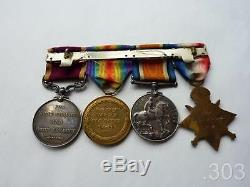 WWI 1914 Mons Star Trio & LSGC Medal to MacKenzie RFA / RA, Group of Four