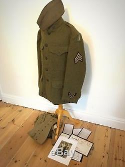 WWI 77th division named uniform group lost battalion 308th infantry