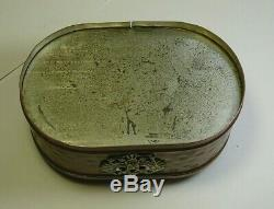 WWI Antiques Casket Imperial Russia Bronze Copper