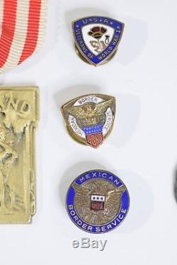 WWI Army Distinguished Service Cross Recipient 29th Division AEF Maryland Medals