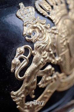 Wwi Bavarian'infantry Lifeguard Regt' Pickelhaube -spiked Helmet