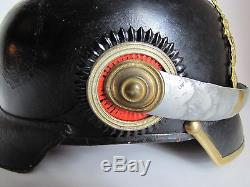 WWI Bavarian Reserve Mounted Officers M1897 Pickelhaube Spiked Helmet