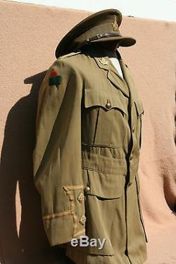 Wwi Canadian Cef 75th Battalion Cuff Rank Tunic With Cap
