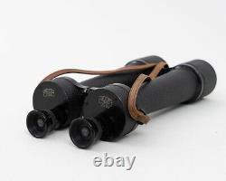 WWI Carl Zeiss Jena Delfort Binoculars 18x50 Original Leather Strap & Case
