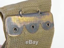 WWI Era US 1905 Mills Shotgun Shotshell Belt for Winchester 97 Trench Gun