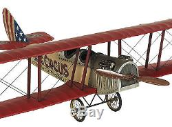 WWI Flying Circus Curtiss Jenny JN4 Biplane 20 Built Model Airplane