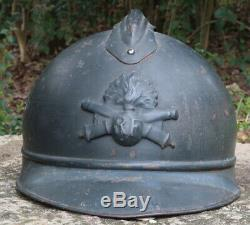 WWI French M15 Adrian Artillery Helmet