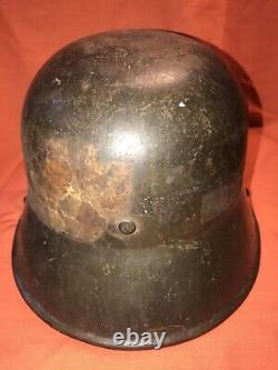 WWI GERMAN M16 Helmet Stamped (Bring Back Withshipping label remains)