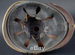 Wwi German Spike Helmet -baden M1895 Em Pickelhaube