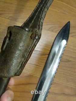 WWI German 98/05 SAWBACK Bayonet Pack Ohliger 1916
