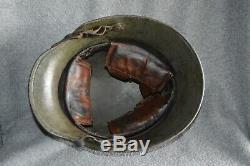 WWI German M1916 Helmet withLiner, Strap