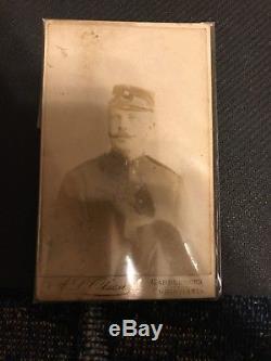 WWI German Militaria Lot Pickelhaube Medals Binoculars Photo