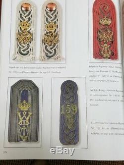 WWI German Shoulder Straps Boards
