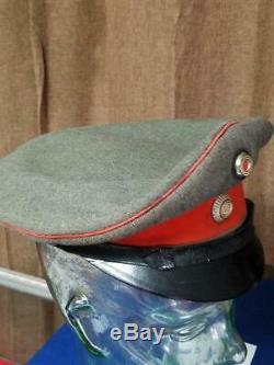 WWI German infantry field visor cap