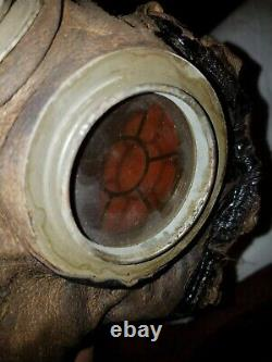 WWI IMPERIAL GERMAN MODEL 1918 GAS MASK With CANISTER