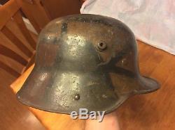 WWI M17 German Camo Helmet