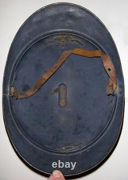 WWI M1915 French Army Artillery Adrian Helmet from AFS Driver Lt. Bown's Estate