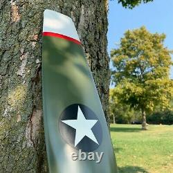 WWI Military Aircraft Airplane Wooden Propeller Home Decor