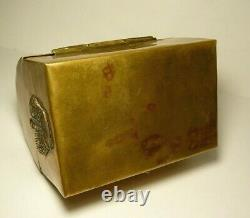 WWI Military Box Imperial Russia Crown Copper