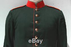 WWI ORIGINAL German Imperial Jager Battalion 11 Tunic MINT
