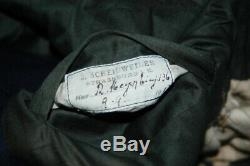 WWI ORIGINAL German Imperial Tunic 136 and Named