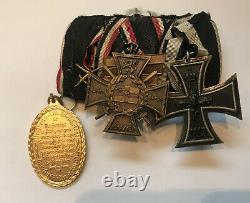 WWI Ordensspange Eisernes Kreuz 1914 Flandernkreuz Antwerpen Kyffhäuser #2