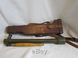 WWI Trench Periscope & Leather Case, #10, Mdl 1918, Wollensak United States