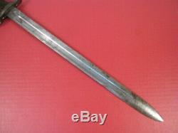 WWI US ARMY M1905 Bayonet Marked SA 1911 withMK 1 Scabbard M1903 Springfield Rifle
