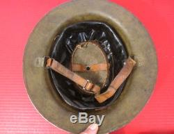 WWI US Army 27th Division Grouping M1917 Helmet & Gas Mask withUnit History Books