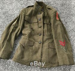 WWI US Army 32nd Division Red Arrow Tunic Uniform