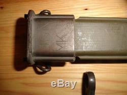WWI US M1905 Bayonet Marked SA 1918 withMK 1 Scabbard, M1903 Springfield Rifle