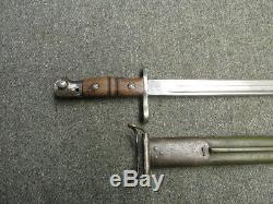 Wwi Us Model 1917 Bayo-winchester-for P17 Enfield & Trench Guns