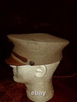 WWI WW1 1912 USMC USMC MARINE CORPS Corps Bell Crown Cap Hat BELLCROWN VISOR