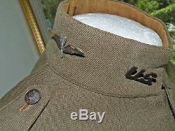 WWI WW1 BOB FORD Collection-278th Aero Squadron Pilot Uniform NAMED PB Wing NICE