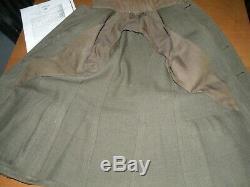 WWI WW1 US Navy Naval Aviator #1745 Green Tunic, Wings, Ribbon PHOTO Uniform Bio