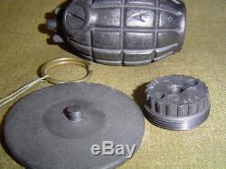 WWI WW2 British Mills Bomb Grenade No  36 Inert Resin Replica Repro