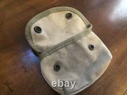 WWI WWII Third pattern USMC Marine first aid Bandage pouch Depot Rare